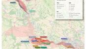 Cartes des zones de passages retenues suite au COPIL du 20 oct 2016